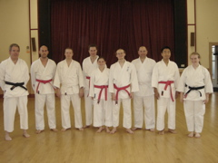Congratulations to the Beginners Class for a successful Grading, July 2006