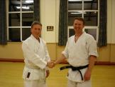 Congratulations Kevin - Shodan, April 2006